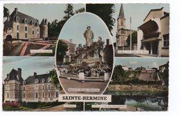 SAINT HERMINE (85) - MONUMENT GEORGES CLEMENCEAU - LE CHATEAU - Sainte Hermine