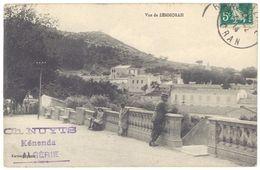 Cpa Algérie, Vue De Zemmorah ( Tampon Ch. Nuyts, Kénenda ) - Algérie