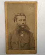 OLD CARDBOARD PHOTO  LYPOLDT  VAZAZDIN  10,5  X 6,5 Cm - Fotos