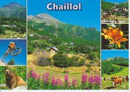 05 CHAILLOL - MULTIVUES AVEC VUE GENERALE / VELO / - France