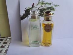Miniature Parfum Hermès Lot - Miniature Bottles (without Box)