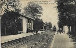 A. 11- CASTRES-BEAUTIRAN - Vue Intérieure De La Gare -ed. A. Thiriat - Otros Municipios