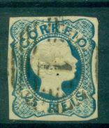 PORTUGAL N° 6 Oblitéré Cote 35 € - 1855-1858 : D.Pedro V