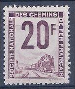 FRANCE - COLIS POSTAUX ET AUTRES 29 NEUF** MNH LUXE COTE 100 EUR - RARE - Mint/Hinged