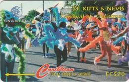 St Kitts & Nevis : STK-17 A . CARNIVAL AT CHRISTMAS 4 . - St. Kitts & Nevis