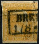 Preußen Michel 12b Gestempelt BRE... 1/8 (1-350) - Preussen