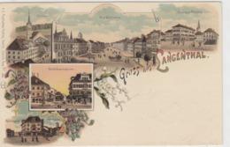 Gruss Aus Langenthal - Litho - 1902      (P-69-40701) - BE Berne