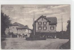 Aarberg - Bahnhofrestaurant & Bierdepot Der Brauerei Beauregard - Animiert       (P-69-40701) - BE Berne