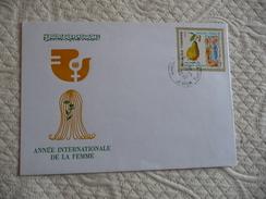 """Enveloppe Philathèlique : TUNISIE """"Année Internationale De La Femme 1975 - Tunesië (1956-...)"""