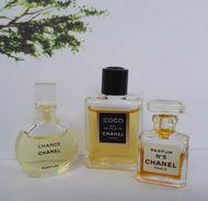 Miniature Parfum Chanel Lot - Miniatures Modernes (à Partir De 1961)