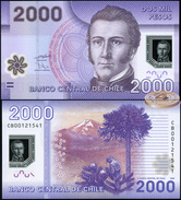 Chile. 2000 Pesos (Unc. Polymer) 2010. Banknote Cat# P.162a [DLC.BN03690] - Chile