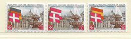 ORDRE DE MALTE  ( EUODM - 8 )  1975  N° YVERT ET TELLIER  N° 113/115    N** - Malta (la Orden De)