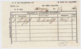 """Liechtenstein, 1864, """" VADUTZ """"  , #8623 - ...-1912 Vorphilatelie"""