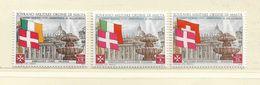 ORDRE DE MALTE  ( EUODM - 9 )  1975  N° YVERT ET TELLIER  N° 116/118    N** - Malta (la Orden De)