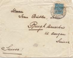 BRASIL 19? - 1000 R Auf Brief Gel. Brasil > Aargau - Luftpost