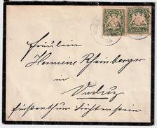 Liechtenstein, 1895, Bayern Nach Vaduz , #8626 - Liechtenstein