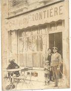 CAP D'AIL . BAR DE LA FRONTIERE - Lieux