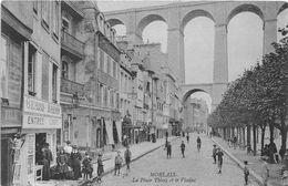 29-MORLAIX- LA PLACE THIERS ET LE VIADUC - Morlaix