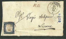 DA SPEZIA A LIVORNO - 15.9.1859. - Sardegna