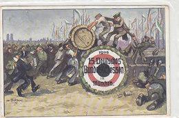 Deutsches Bundesschiessen München - 1905 - Sign.        (A-49-150108/2) - Waffenschiessen