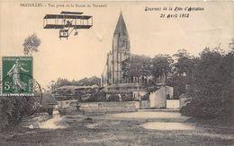 29-BREZOLLES- VUE PRISE DE LA ROUTE DE VERNEUIL- SOUVENIR DE LA FÊTE D'AVIATION 1912 - France