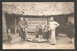 HAIPHONG. - Famille Indigéne - Vietnam