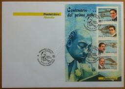 FDC Poste Italiane 2003 - Foglietto Centenario Del Primo Volo - NVG *** Tematico - Francobolli