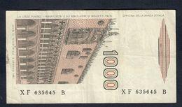 1000 LIRE MARCO POLO SERIE Sostitutiva XF...B 1988 Raro Bel Biglietto Bb+  LOTTO 245 - 1000 Lire