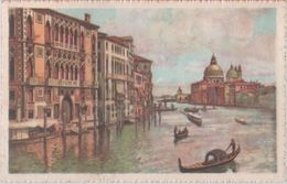 Venezia. Canal Grance E La Chiesa Della Salute. Illustratore - Venezia