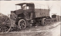 Photo Janvier 1919 Les Restes D'un Camion Allemand (A176, Ww1, Wk 1) - Guerre 1914-18
