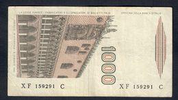 1000 LIRE MARCO POLO SERIE Sostitutiva XF...C 1988 Raro Bel Biglietto Bb  LOTTO 246 - [ 2] 1946-… : République