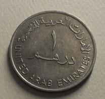 1989 - Emirats Arabes Unis - United Arab Emirates - 1409 - 1 DIRHAM, Sultan Zayeb Bin, Grand Module, KM 6.1 - Emirats Arabes Unis