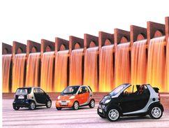 Pressefoto  SMART - City Coupe / City Cabrio (1999) - Oversized XXL - Automobile