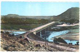 Cpsm Algérie - Laghouat - Le Pont Sur L'Oued M'zi - Laghouat