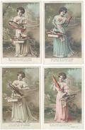 Série De 5 CPA (4 Reproduites) - 1° Avril - Femme Et Poisson  - Photo Oricelly    (98362) - Femmes