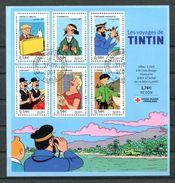 France BF 109 - Tintin - Avec Gomme Et Belle Oblitération Ronde - 1/4 De Cote - Oblitérés