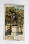 Chromo Chocolat Guérin Boutron Statue Maréchal Ney Carrefour De L'observatoire - Guerin Boutron