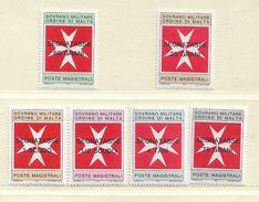 ORDRE DE MALTE  ( EUODM - 23 )  1975  N° YVERT ET TELLIER  TAXE   N°  11/16    N** - Malte (Ordre De)