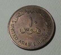 1989 - Emirats Arabes Unis - United Arab Emirates - 1409 - 10 FILS - KM 3.1 - Emirats Arabes Unis