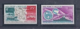 SP 5 - Saint Pierre Et Miquelon - P.A.  N°  38 / 39 - Luchtpost
