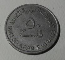 1973 - Emirats Arabes Unis - United Arab Emirates - 1393 - 50 FILS - KM 5 - Emirats Arabes Unis