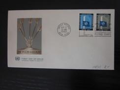 UNO New York Nr. 118 / 119 FDC - New York -  VN Hauptquartier
