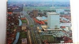 CPSM DJAKARTA MAIN STREET OF THE TOWN  RUE PRINCIPALE DE LA VILLE - Indonesia
