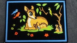 CPSM BAMBI ET SA MAMAN FEUTRINE WALT DISNEY 1960 - Disney