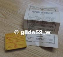 """Ancienne Boîte En Métal De """"40 Pastilles GONACRINE"""" (1962) - F. BARRAL, Pharmacien à Paris (boîte Pleine) - Scatole"""