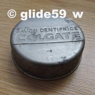 "Ancienne Boîte Aluminium à ""SAVON DENTIFRICE COLGATE"" (boîte Pleine) - Boîtes"