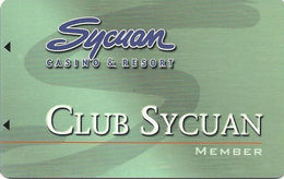 Sycuan Casino - El Cajon, CA USA - Slot Card (BLANK) - Casino Cards