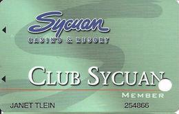 Sycuan Casino - El Cajon, CA USA - Slot Card - Casino Cards