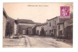 54 Ochey Rue De La Citerne Café Masson Cachet 1935 - Autres Communes