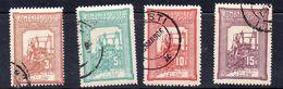 RUMANIA.  AÑO 1905-1906.  Yv  164/167 (USED) - 1918-1948 Ferdinand, Charles II & Michael